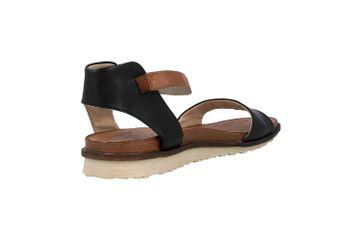 Remonte Sandalen in Übergrößen Schwarz R2752-01 große Damenschuhe – Bild 3