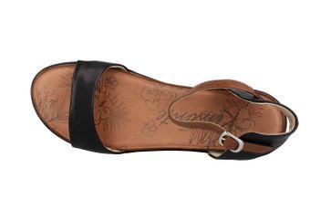 Remonte Sandalen in Übergrößen Schwarz R2752-01 große Damenschuhe – Bild 7