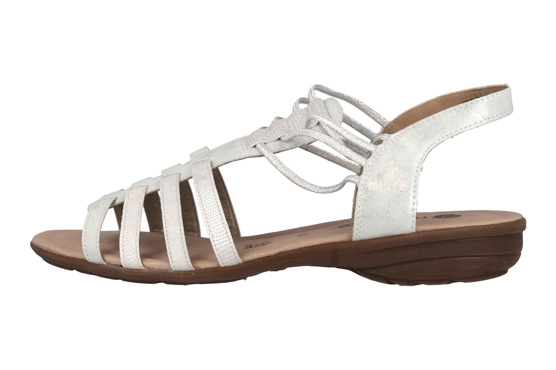 Remonte Sandalen in Übergrößen Silber R3630-90 große Damenschuhe – Bild 1