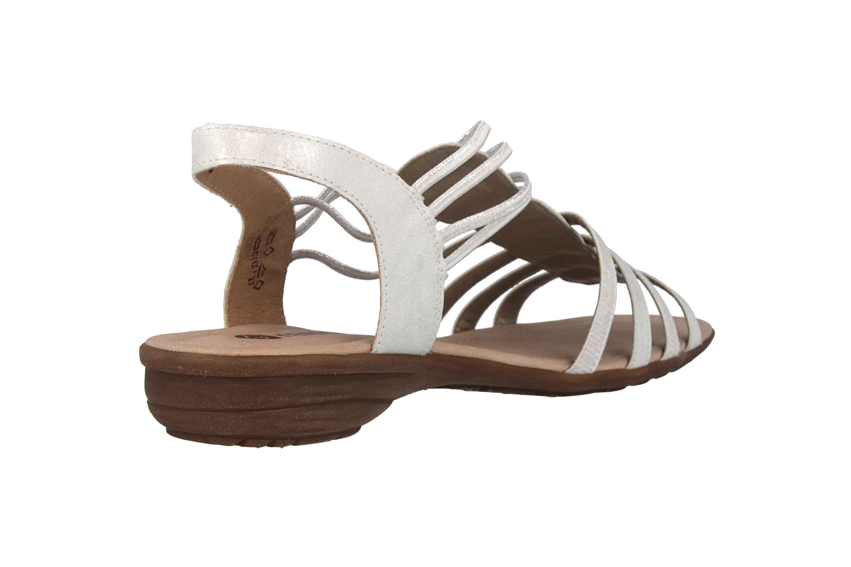 Remonte Sandalen in Übergrößen Silber R3630-90 große Damenschuhe – Bild 3