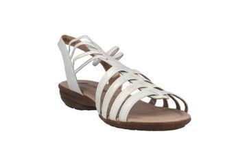 Remonte  Sandalen in Übergrößen Silber R3630-90 große Damenschuhe – Bild 5