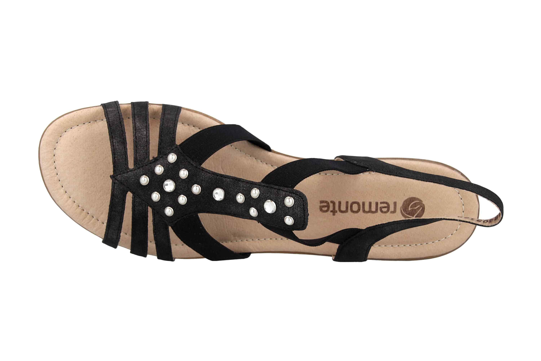 Remonte Sandalen in Übergrößen Grau R3650-45 große Damenschuhe – Bild 7