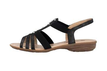 Remonte Sandalen in Übergrößen Grau R3650-45 große Damenschuhe – Bild 1