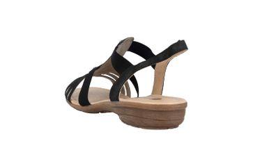 Remonte Sandalen in Übergrößen Grau R3650-45 große Damenschuhe – Bild 2