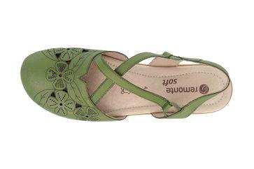 Remonte Sandalen in Übergrößen Grün R3802-54 große Damenschuhe – Bild 7