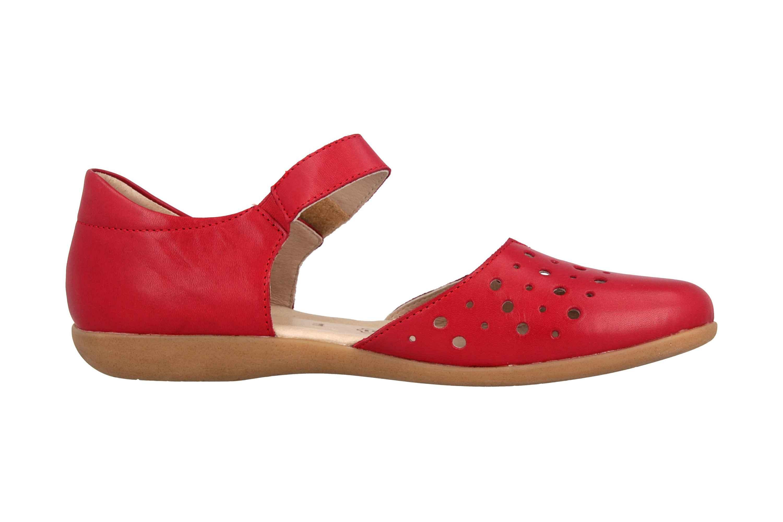 Remonte Sandalen in Übergrößen Rot R3851-33 große Damenschuhe – Bild 4