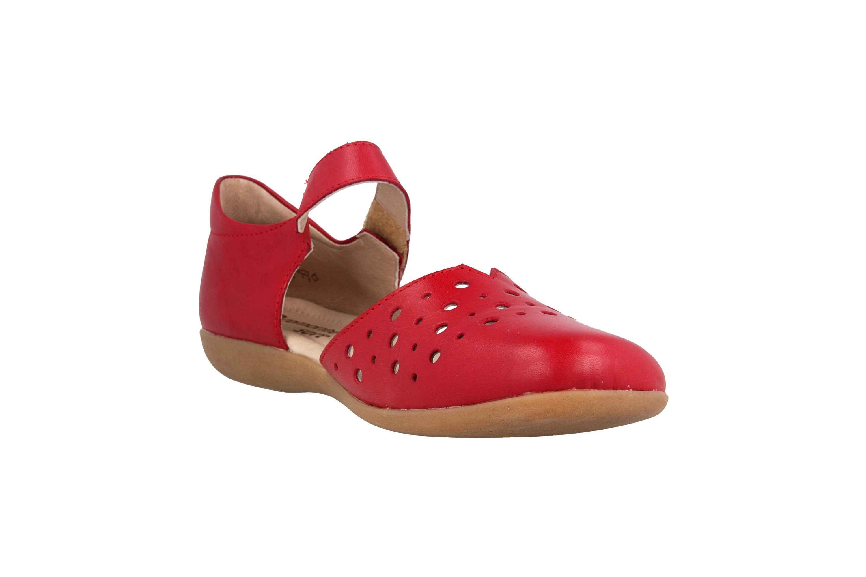 Remonte Sandalen in Übergrößen Rot R3851-33 große Damenschuhe – Bild 5