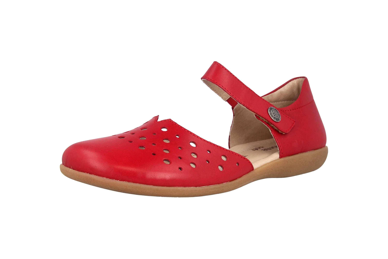 Remonte Sandalen in Übergrößen Rot R3851-33 große Damenschuhe – Bild 6