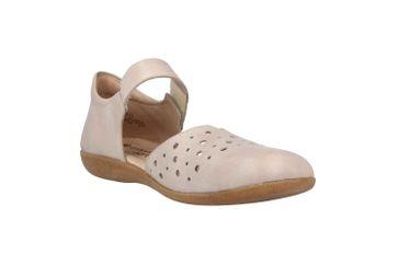 Remonte  Sandalen in Übergrößen Beige R3851-81 große Damenschuhe – Bild 5