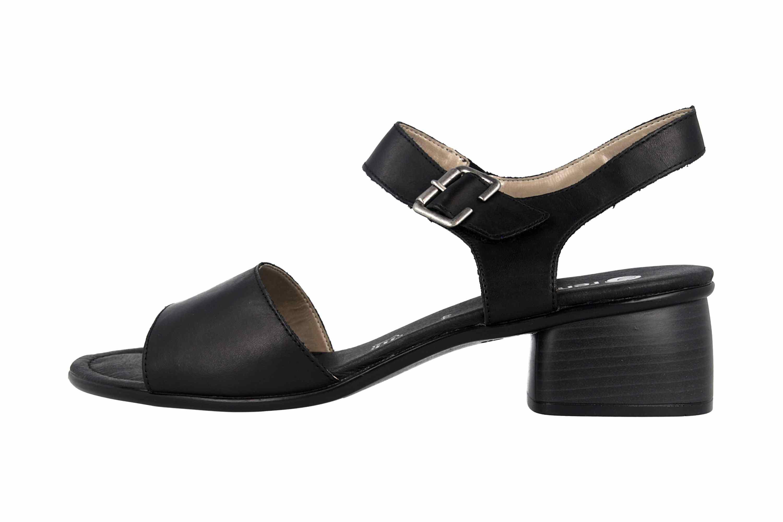 Remonte Sandalen in Übergrößen Schwarz R8757-01 große Damenschuhe – Bild 1