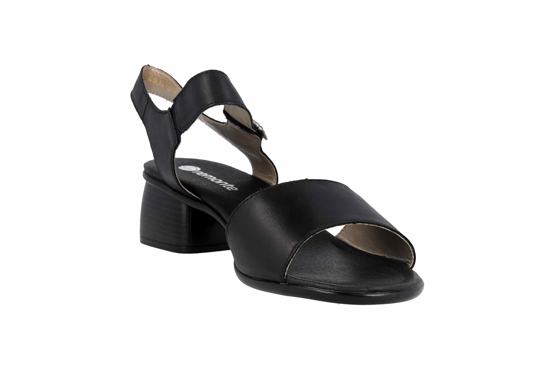 Remonte Sandalen in Übergrößen Schwarz R8757-01 große Damenschuhe – Bild 5