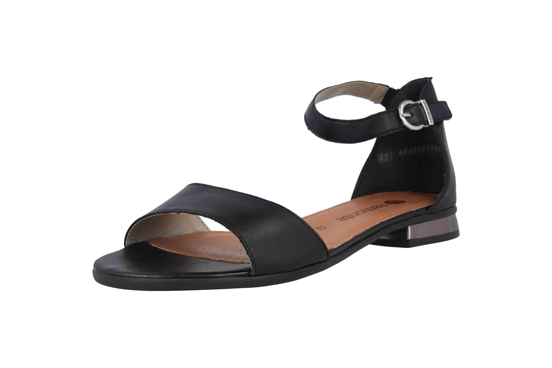Remonte Sandalen in Übergrößen Schwarz R9050-01 große Damenschuhe – Bild 6