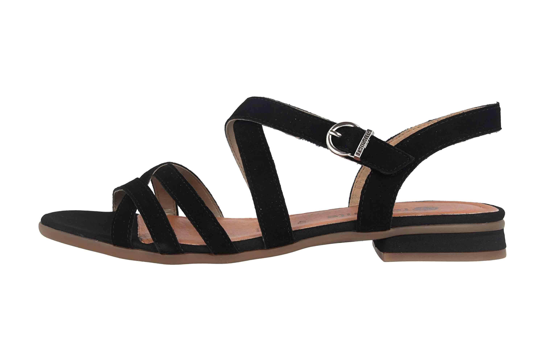 Remonte Sandalen in Übergrößen Schwarz R9052-02 große Damenschuhe – Bild 1