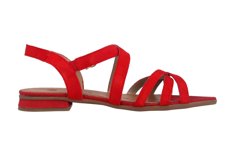 Remonte Sandalen in Übergrößen Rot R9052-33 große Damenschuhe – Bild 4