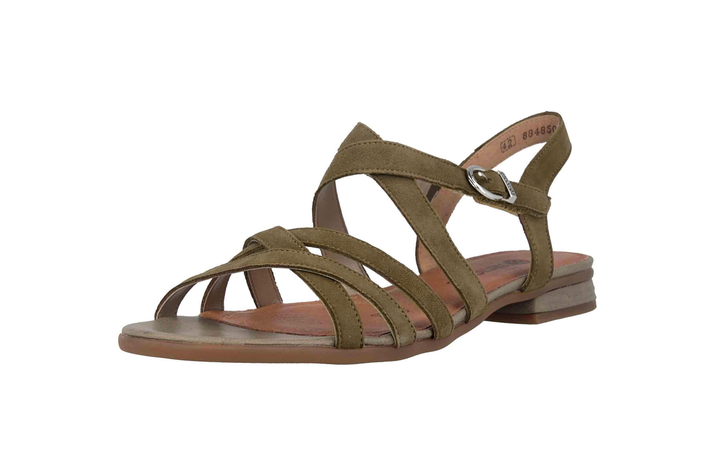 Remonte Sandalen in Übergrößen Grün R9052-54 große Damenschuhe – Bild 6