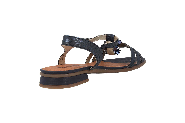 Remonte Sandalen in Übergrößen Blau R9056-14 große Damenschuhe – Bild 3