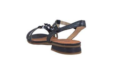 Remonte Sandalen in Übergrößen Blau R9056-14 große Damenschuhe – Bild 2