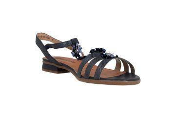 Remonte  Sandalen in Übergrößen Blau R9056-14 große Damenschuhe – Bild 5