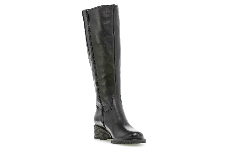 Gabor Comfort Basic Stiefel in Übergrößen Schwarz 36.097.57 große Damenschuhe