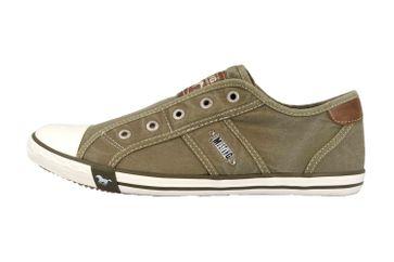 Mustang Shoes Slipper in Übergrößen Grün 1099-401-777 große Damenschuhe – Bild 1