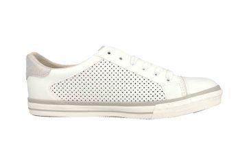Mustang Shoes Sneaker in Übergrößen Weiß 1146-309-1 große Damenschuhe – Bild 4