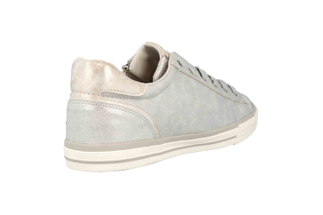 Mustang Shoes Sneaker in Übergrößen Silber 1146-311-21 große Damenschuhe – Bild 3