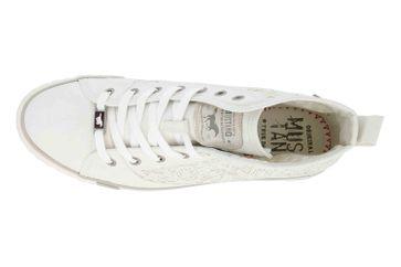 Mustang Shoes High Top Sneaker in Übergrößen Weiß 1146-507-1 große Damenschuhe – Bild 7