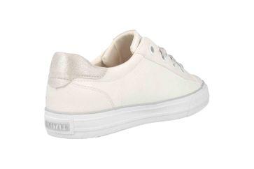Mustang Shoes Sneaker in Übergrößen Weiß 1272-302-1 große Damenschuhe – Bild 3