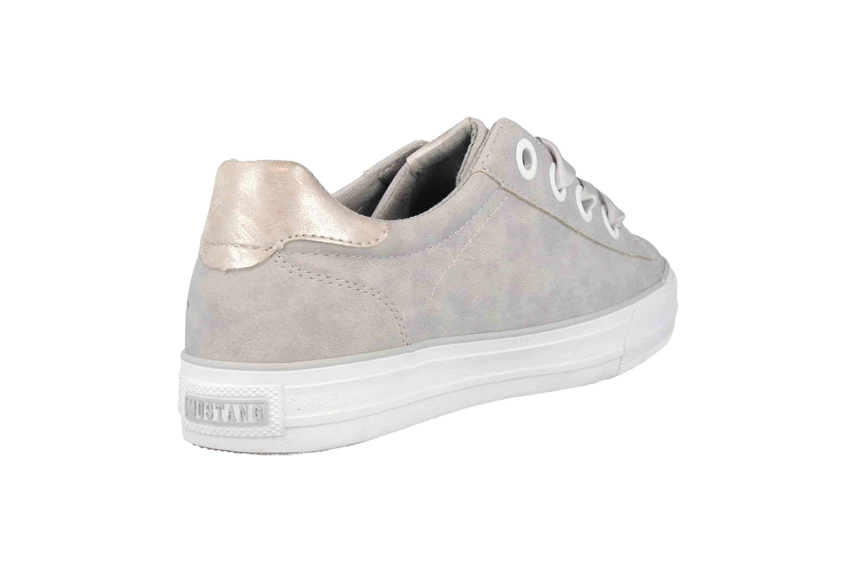 Mustang Shoes Sneaker in Übergrößen Grau 1272-302-22 große Damenschuhe – Bild 3