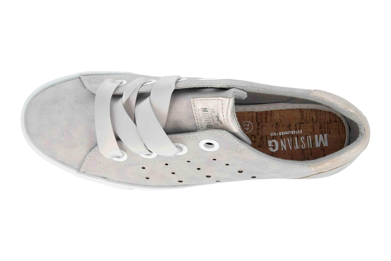 Mustang Shoes Sneaker in Übergrößen Grau 1272-302-22 große Damenschuhe – Bild 7