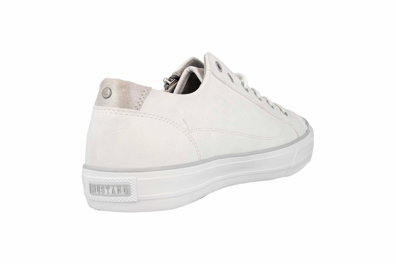Mustang Shoes Sneaker in Übergrößen Weiß 1272-305-1 große Damenschuhe – Bild 3