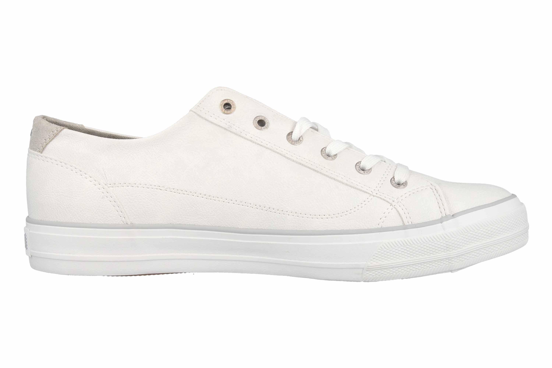 Mustang Shoes Sneaker in Übergrößen Weiß 1272-305-1 große Damenschuhe – Bild 4