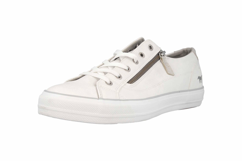 Mustang Shoes Sneaker in Übergrößen Weiß 1272-305-1 große Damenschuhe – Bild 6