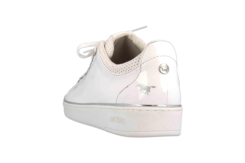 Mustang Shoes Sneaker in Übergrößen Weiß 1300-301-1 große Damenschuhe – Bild 2