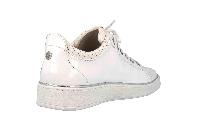 Mustang Shoes Sneaker in Übergrößen Weiß 1300-301-1 große Damenschuhe – Bild 3