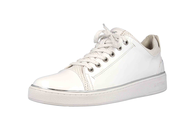 Mustang Shoes Sneaker in Übergrößen Weiß 1300-301-1 große Damenschuhe – Bild 6