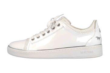 Mustang Shoes Sneaker in Übergrößen Weiß 1300-301-1 große Damenschuhe – Bild 1