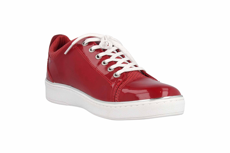 Mustang Shoes Sneaker in Übergrößen Rot 1300-301-5 große Damenschuhe – Bild 5
