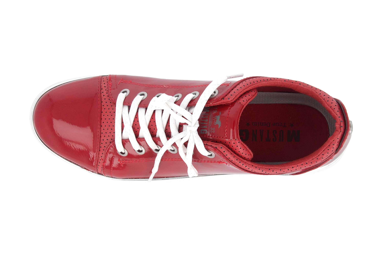 Mustang Shoes Sneaker in Übergrößen Rot 1300-301-5 große Damenschuhe – Bild 7