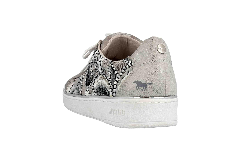 Mustang Shoes Sneaker in Übergrößen Grau 1300-302-2 große Damenschuhe – Bild 2