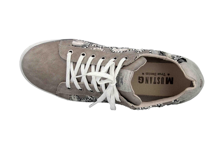 Mustang Shoes Sneaker in Übergrößen Grau 1300-302-2 große Damenschuhe – Bild 7