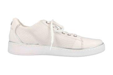 Mustang Shoes Sneaker in Übergrößen Weiß 1300-303-121 große Damenschuhe – Bild 4