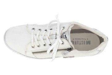 Mustang Shoes Sneaker in Übergrößen Weiß 1300-303-121 große Damenschuhe – Bild 7
