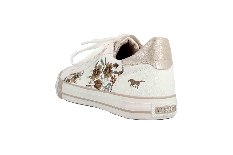 Mustang Shoes Sneaker in Übergrößen Weiß 1313-303-14 große Damenschuhe – Bild 2
