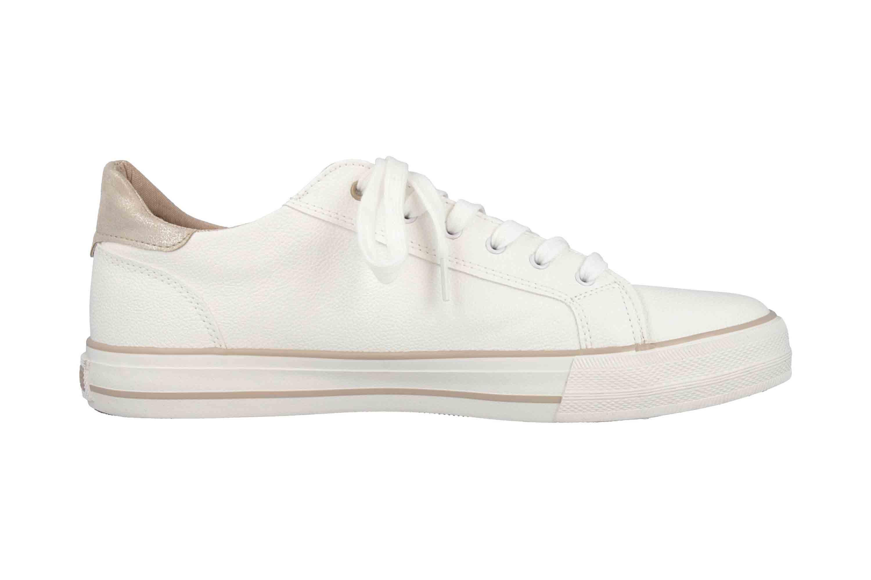 Mustang Shoes Sneaker in Übergrößen Weiß 1313-303-14 große Damenschuhe – Bild 4