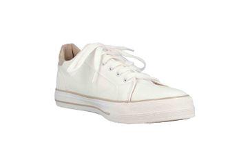 Mustang Shoes Sneaker in Übergrößen Weiß 1313-303-14 große Damenschuhe – Bild 5
