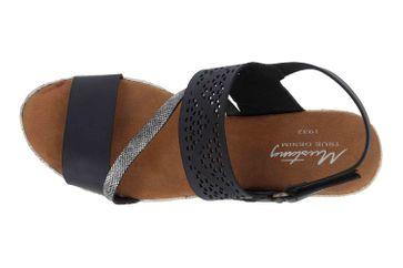 Mustang Shoes Sandaletten in Übergrößen Schwarz 1317-802-9 große Damenschuhe – Bild 7