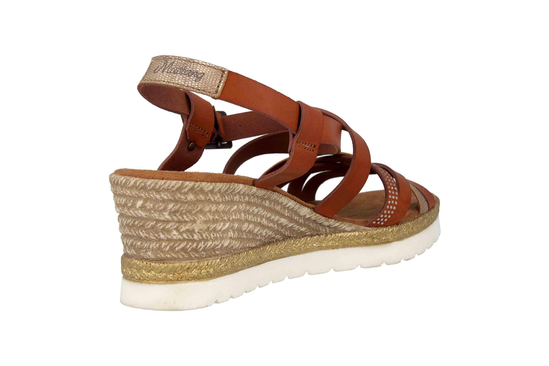 Mustang Shoes Sandaletten in Übergrößen Braun 1317-803-301 große Damenschuhe – Bild 3