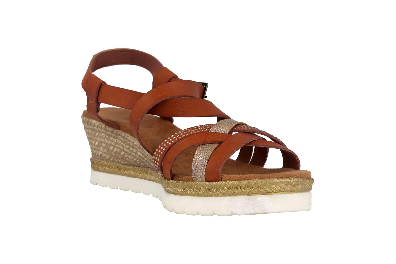Mustang Shoes Sandaletten in Übergrößen Braun 1317-803-301 große Damenschuhe – Bild 5
