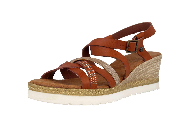 Mustang Shoes Sandaletten in Übergrößen Braun 1317-803-301 große Damenschuhe – Bild 6